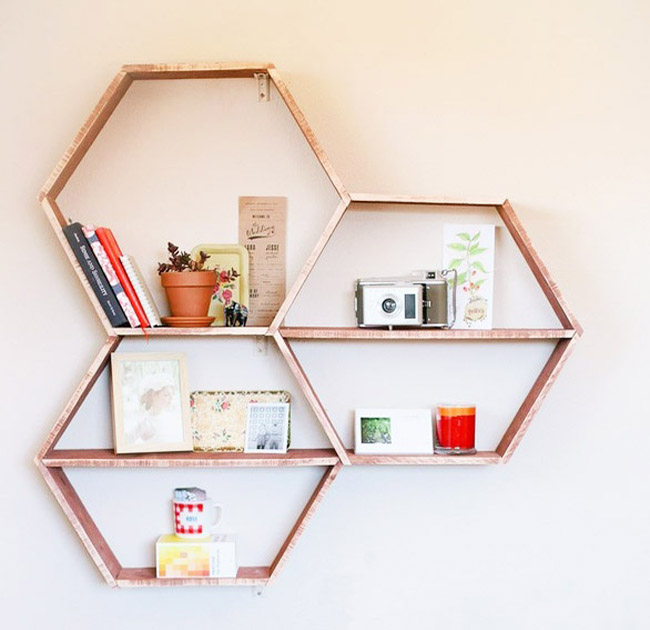Just made this Honeycomb Shelving set and it was super easy. Give it a try  yourself. Instructions Here:
